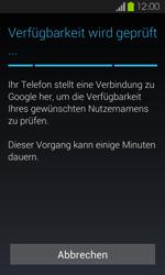 Samsung I9100 Galaxy S2 mit Android 4.1 - Apps - Konto anlegen und einrichten - Schritt 8