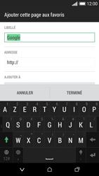 HTC Desire 610 - Internet et connexion - Naviguer sur internet - Étape 10