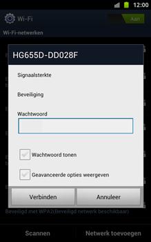 Samsung N7000 Galaxy Note met OS 4 ICS - WiFi - Handmatig instellen - Stap 8