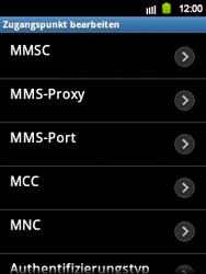 Samsung Galaxy Y - Internet und Datenroaming - Manuelle Konfiguration - Schritt 12