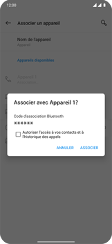 OnePlus 7T Pro - Internet et connexion - Connexion avec un équipement multimédia via Bluetooth - Étape 9