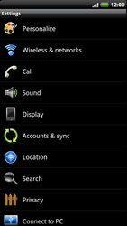 HTC Z715e Sensation XE - Voicemail - Manual configuration - Step 4