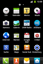 Samsung Galaxy Ace i - MMS - Manuelle Konfiguration - 0 / 0
