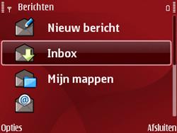 Nokia E63 - MMS - Automatisch instellen - Stap 6