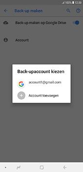 Samsung Galaxy J6 Plus - toestel resetten - back-up maken met jouw account - stap 11