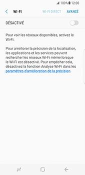 Samsung Galaxy S8 - WiFi - Configuration du WiFi - Étape 6