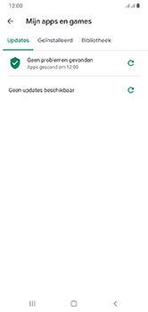 Samsung Galaxy A10 - Apps - apps updaten - Stap 7