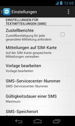 BASE Lutea 3 - SMS - Manuelle Konfiguration - Schritt 4