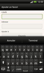 HTC One SV - Internet et roaming de données - Navigation sur Internet - Étape 12
