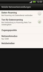HTC One SV - Ausland - Im Ausland surfen – Datenroaming - 7 / 10