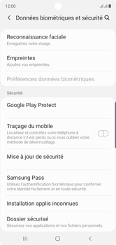 Samsung Galaxy Note10 - Appareil - Configurer Localiser mon appareil - Étape 5