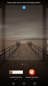 Huawei Mate 9 - Getting started - Installing widgets and applications on your start screen - Step 6