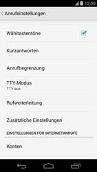 LG D821 Google Nexus 5 - Anrufe - Rufumleitungen setzen und löschen - Schritt 7