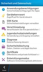BlackBerry Z10 - Fehlerbehebung - Handy zurücksetzen - Schritt 7