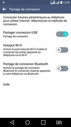 LG LG K8 - Internet et connexion - Utiliser le mode modem par USB - Étape 9