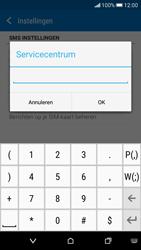 HTC Desire 626 - SMS - Handmatig instellen - Stap 9