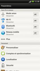 HTC One S - Réseau - Sélection manuelle du réseau - Étape 5