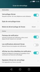 Huawei P8 Lite - Sécuriser votre mobile - Activer le code de verrouillage - Étape 4