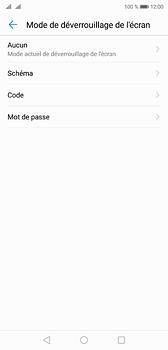 Huawei P20 - Sécuriser votre mobile - Activer le code de verrouillage - Étape 6