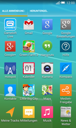 Alcatel OT-5050X Pop S3 - SMS - Manuelle Konfiguration - Schritt 3
