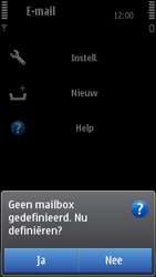 Nokia N8-00 - E-mail - e-mail instellen: POP3 - Stap 5