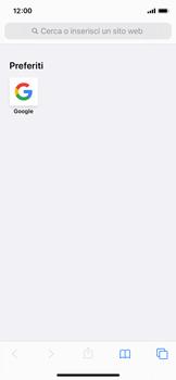 Apple iPhone X - iOS 13 - Internet e roaming dati - Uso di Internet - Fase 13