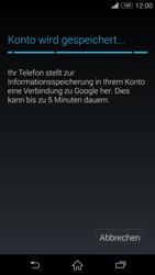 Sony D6603 Xperia Z3 - Apps - Konto anlegen und einrichten - Schritt 16