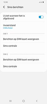 Samsung Galaxy S20 5G Dual-SIM eSIM SM-G981B - SMS - Handmatig instellen - Stap 10