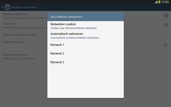 Samsung P5220 Galaxy Tab 3 10-1 LTE - Netwerk - Handmatig netwerk selecteren - Stap 11