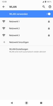 Sony Xperia XZ3 - WLAN - Manuelle Konfiguration - Schritt 7