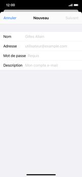 Apple iPhone X - iOS 13 - E-mail - Configuration manuelle - Étape 34