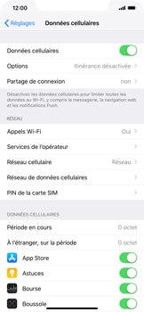 Apple iPhone XS Max - Internet - configuration manuelle - Étape 5