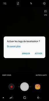 Samsung Galaxy A6 - Photos, vidéos, musique - Prendre une photo - Étape 5