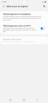 Samsung Galaxy Note20 Ultra 5G - Aller plus loin - Mettre à jour le logiciel interne de votre mobile - Étape 6