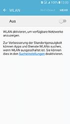 Samsung Galaxy J5 (2016) DualSim - WLAN - Manuelle Konfiguration - 1 / 1