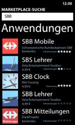 Nokia Lumia 800 / Lumia 900 - Apps - Installieren von Apps - Schritt 13