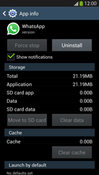 Samsung Galaxy S 4 LTE - Applications - How to uninstall an app - Step 7