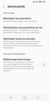 Samsung Galaxy S8 - Téléphone mobile - Réinitialisation de la configuration d