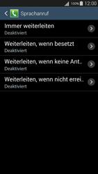Samsung I9301i Galaxy S III Neo - Anrufe - Rufumleitungen setzen und löschen - Schritt 9