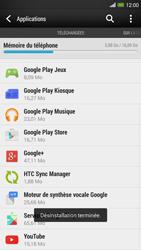 HTC One Max - Applications - Comment désinstaller une application - Étape 8
