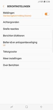 Samsung Galaxy S8 Plus - SMS - handmatig instellen - Stap 6