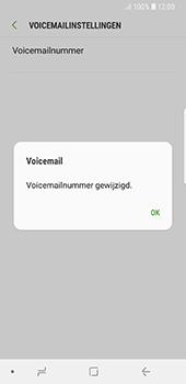 Samsung Galaxy S8 - Android Oreo (SM-G950F) - Voicemail - Handmatig instellen - Stap 9