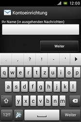 Sony Xperia E - E-Mail - Konto einrichten - 1 / 1