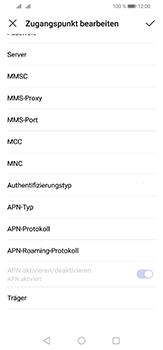 Huawei P30 Lite - Internet und Datenroaming - Manuelle Konfiguration - Schritt 12
