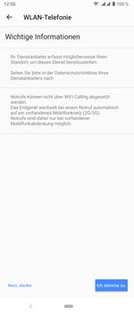 Sony Xperia 5 - WiFi - WiFi Calling aktivieren - Schritt 11