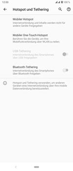 Sony Xperia 5 - WiFi - So aktivieren Sie einen WLAN-Hotspot - Schritt 6