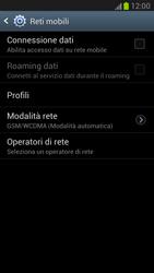 Samsung Galaxy Note II - Internet e roaming dati - Configurazione manuale - Fase 6