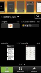 HTC One S - Prise en main - Installation de widgets et d