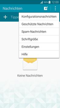 Samsung N910F Galaxy Note 4 - SMS - Manuelle Konfiguration - Schritt 5