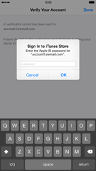 Apple iPhone 6 Plus - iOS 8 - Applications - Setting up the application store - Step 27